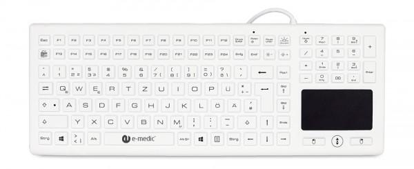 Silikonummantelte Tastatur