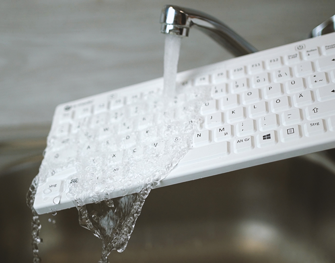 abwaschbare-medizinische-silikon-tastatur-e-medic