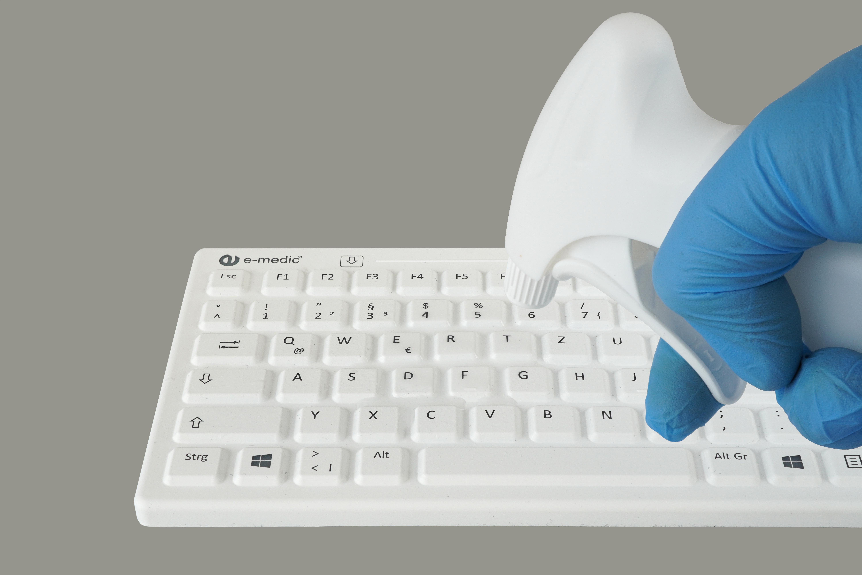 desinfizierbare-hygienische-abwaschbare-tastatur-e-medic