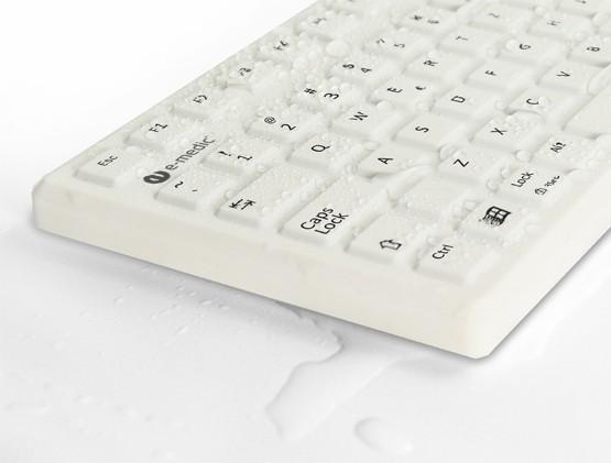 medizinische-desinfizierbare-abwaschbare-silikon-tastatur_e-medic_ST