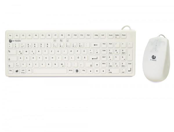 desinfizierbares keyboard und maus