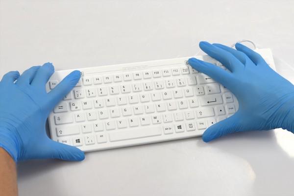 desinfizierbare-medizinische-hygeine-silikon-tastatur-e-medic